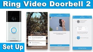Setting The Ring Video Doorbell 2 Up