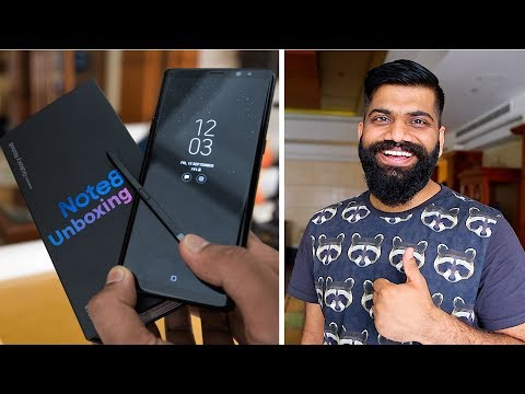 Xxx Mp4 Samsung Galaxy Note 8 Unboxing And First Look 🔥 Indian Unit 3gp Sex