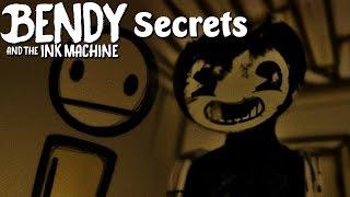 SECRETS IN CHAPTER 1 & 2 | Bendy and the Ink Machine (Deutsch/German)