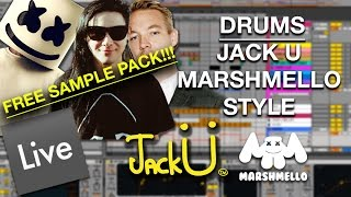 Jack Ü / Marshmello Style: Melody-Vocal Chop | Ableton Tutorial ...