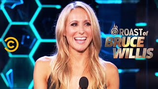 "Nikki Glaser on Meeting Dennis Rodman and ""Fight Club"" - Roast of Bruce Willis - Uncensored"