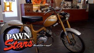 Pawn Stars: 1969 Harley Aermacchi (Season 15) | History