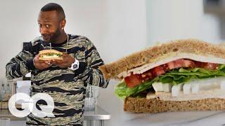 Comedian James Davis Makes a Hood Adjacent Turkey Sandwich | GQ
