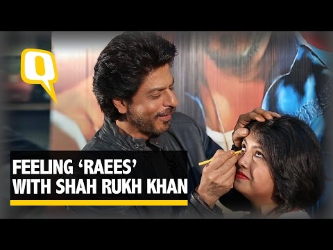 The Quint- Exclusive: Feeling 'Raees' With SRK, Miyanbhai And A Kajal Stick