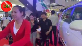 SsangYong  Motor Exhibition at Aeon mall in Phnom Penh (Cambodia),