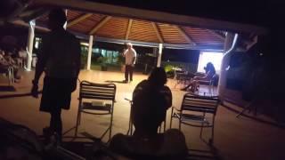 Karaoke @ the jolly beach resort and spa in Antigua