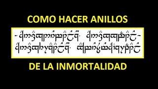 LOS ANILLOS MÁGICOS DE LA INMORTALIDAD