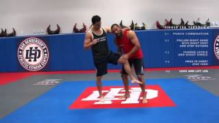 Dan Henderson MMA Techniques of the Week Single Leg Takedown Right vs Right Hand