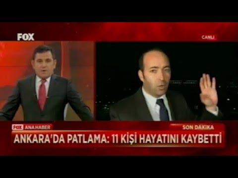 Ankara patlama anı canlı yayın