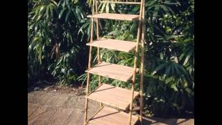 Rak Bambu , Gawangan Kayu ,  Manekin Rotan