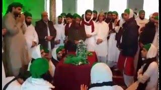 Ziarat of blessed ZULF mubarak in Holland