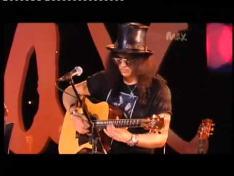 Sweet Child O Mine Rare Acoustic Slash & Myles Kennedy Live Max Sessions 2010 HQ