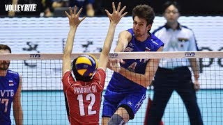 Most Quick Vertical Spikes ● Spike Fall by Middle Blocker