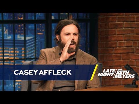 Casey Affleck Doesn t Like Doing Boston Accents