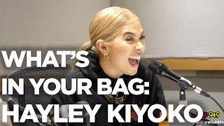 Hayley Kiyoko   Whats in Your Bag + What