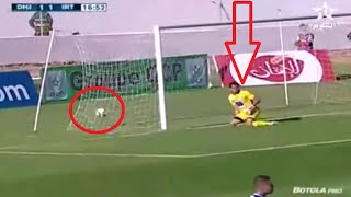 أراد أن يرد الكرة للحارس بروح رياضية فسجل أغرب هدف في الدوري المغربي