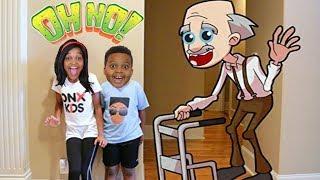 GREEDY GRANDPA! - Shiloh and Shasha - Onyx Kids