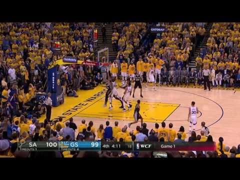 San Antonio Spurs vs Golden State Warriors - May 14, 2017