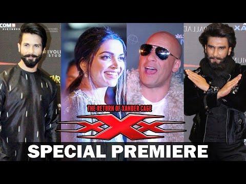 Xxx Mp4 XXx Return Of Xander Cage India Premiere Deepika Vin Diesel Ranveer Singh Kriti Sanon 3gp Sex