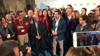 Moreno, reelegido presidente del PP-A