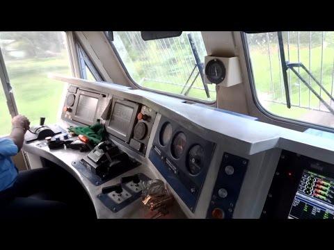 Xxx Mp4 IRFCA Inside Rajdhani Express Locomotive Ultimate Cab Ride In WDP4D Engine 3gp Sex