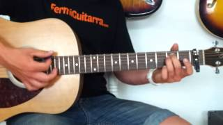 Como Tocar All of me de John Legend - Tutorial fácil en guitarra acústica - Clases principiantes