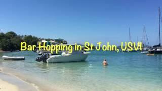 Bar Hopping in St John, USVI