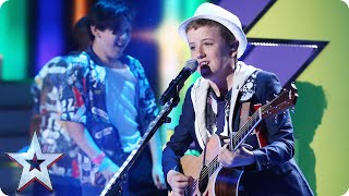 Will lightning strike twice for singer Henry Gallagher? | Semi-Final 1 | Britain's Got Talent 2015