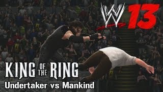 WWE 13 'Undertaker vs Mankind' (Hell in a Cell - King of the Ring 1998) TRUE-HD QUALITY
