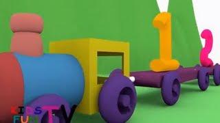 KidsFunTv kid's learning train DVD Full Movie