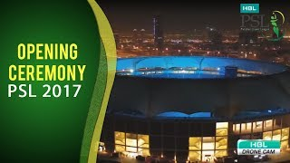 PSL 2017: The Opening Ceremony