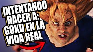 CÓMO SERIA GOKU EN LA VIDA REAL ( EN ESPAÑOL ) DRAGON BALL EN LA VIDA REAL - TREXC! EN PHOTOSHOP #4