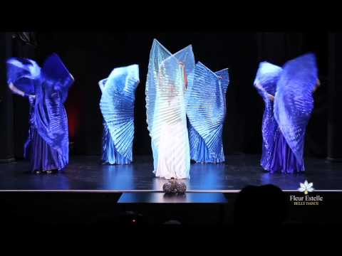 Isis Wings Belly Dance led by Oloma Fleur Estelle Dance Company