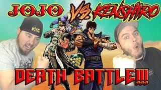 NANI!!! JOTARO VS KENSHIRO Death Battle Reaction