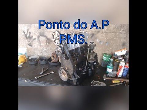 Motor A.P Ponto da correia Dentada PMS Parte 2