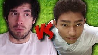 HolaSoyGerman vs Fernanfloo   Batalla Epica #1