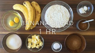 The Best Moist & Chewy Banana Bread Recipe Ever!