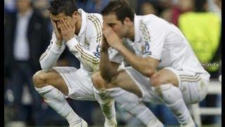 ريال مدريد يضيع فرص سهلة بالجملة امام برشلونة !!