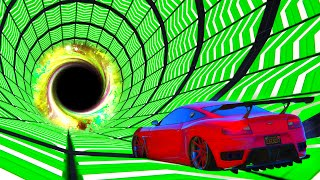 NEVER ENDING TUNNEL BOOSTS!? (GTA 5 Stunt Races)
