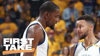 Kevin Durant And Steph Curry: Best NBA Duo Ever? | First Take | June 5, 2017