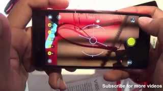 Lenovo Vibe Shot Hands on Review - Camera, Features, Design