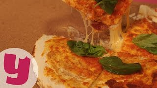 Lavaş Pizza Tarifi (Seni Yeneceğim İtalya!) | Yemek.com