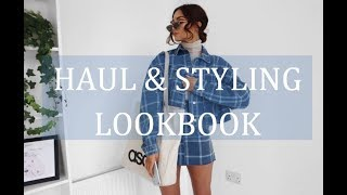 FEBRUARY HAUL & STYLING LOOKBOOK | Topshop, Missguided, H&M