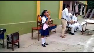 Very highly speech by small school girl speech by Ketan Patel2020.