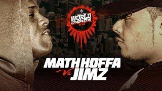 KOTD - Math Hoffa vs Jimz | #WD7