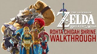 The Legend of Zelda: Breath of the Wild   Champions Ballad DLC - Rohta Chigah Shrine Walkthrough