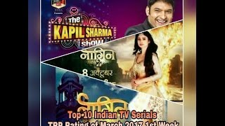 Top 10 Indian TV Serials TRP Rating of March 2017 1st Week