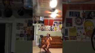 Abby singing Ain't No Man-the Avett Broth