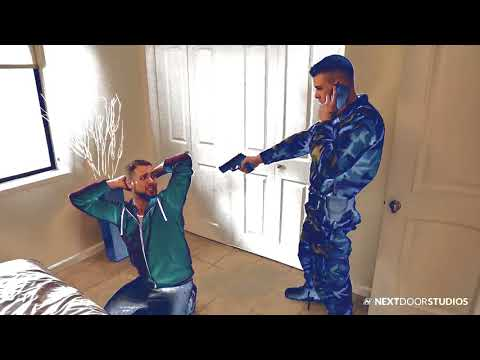 Xxx Mp4 Gay Boy Thief Tries To Rob Sexy Marine And Gets His Meat Blown Up 3gp Sex