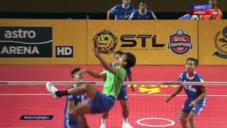 STL Champions Cup 2017 | Sorotan Aksi Perlawanan | Melaka Titans vs Andalas Islanders | Astro Arena